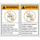 "5 x 6"" - ""Warning Advertencia"" Label Set"