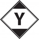 "4 1/4 x 4 1/4"" - ""Y"" Regulated Labels"
