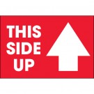 "2 x 3"" - ""This Side Up"" Arrow Labels"