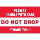 "2 x 3"" - ""Do Not Drop"" Labels"