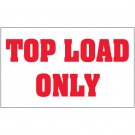 "3 x 5"" - ""Top Load Only"" Labels"