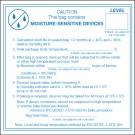 """4 x 4"""" - """"Caution Moisture Sensitive Devices"""" Labels"""