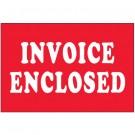 "2 x 3"" - ""Invoice Enclosed"" Labels"