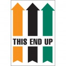 "4 x 6"" - ""This End Up"" Arrow Labels"