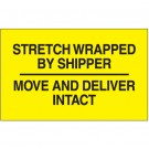 "3 x 5 ""Stretch Wrapped By Shipper"""