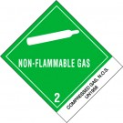 "4 x 4 3/4"" - ""Compressed Gases, N.O.S."" Labels"