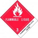"4 x 4 3/4"" - ""Flammable Liquids, N.O.S."" Labels"