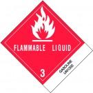 """4 x 4 3/4"""" - """"Gasoline"""" Labels"""