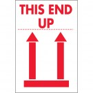 "2 x 3"" - ""This End Up"" Labels"