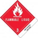 "4 x 4 3/4"" - ""Methanol"" Labels"