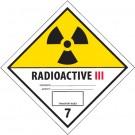 "4 x 4"" - ""Radioactive III"" Labels"