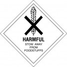 "4 x 4"" - ""Harmful"" Labels"