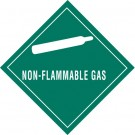 "4 x 4"" - ""Non-Flammable Gas"" Labels"