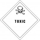 "4 x 4"" - ""Toxic"" Labels"