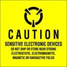"4 x 4"" - ""Sensitive Electronic Devices"" Labels"