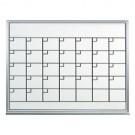 3 x 2' Dry Erase Calendar - 1 Month