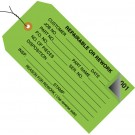 """4 3/4 x 2 3/8"""" - """"Repairable or Rework"""" Inspection Tags 2 Part - Numbered 000 - 499 - Pre-Wired"""
