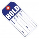 """4 3/4 x 2 3/8""""  """"HOLD"""" Retail Tags"""