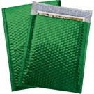 "9 x 11 1/2"" Green Glamour Bubble Mailers"