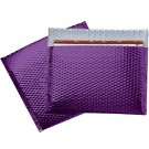 "13 3/4 x 11"" Purple Glamour Bubble Mailers"