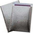 "16 x 17 1/2"" Silver Glamour Bubble Mailers"