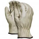 Pigskin Leather Drivers Gloves - Medium