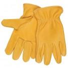 Deerskin Leather Drivers Gloves - Medium