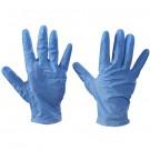 Vinyl Gloves- Blue - 5 Mil - Powdered - Small