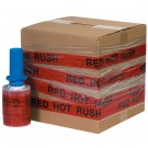 "5"" x 80 Gauge x 500' ""RED HOT RUSH"" Goodwrappers® Identi-Wrap"
