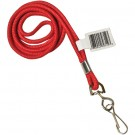 Standard Red Lanyard with Hook