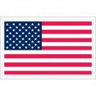 "5 1/4 x 8"" U.S.A. Flag  Packing List Envelopes"