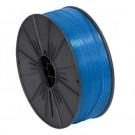 """5/32"""" x 7000' Blue Plastic Twist Tie Spool"""