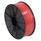 """5/32"""" x 7000' Red Plastic Twist Tie Spool"""