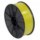 "5/32"" x 7000' Yellow Plastic Twist Tie Spool"