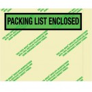 "7 x 5 1/2"" Environmental ""Packing List Enclosed"" Envelopes"
