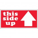 "2 x 4"" - ""This Side Up"" Arrow Labels"