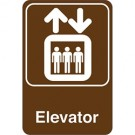 """Elevator"" 9 x 6"" Facility Sign"