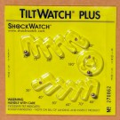TiltWatch Plus with Label