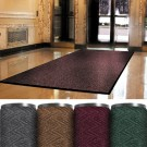 3 x 4' Burgundy Superior Vinyl Carpet Mat