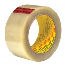 "2"" x 55 yds. Clear 3M™ 351 Carton Sealing Tape"
