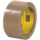 """2"""" x 110 yds. Tan (6 Pack) 3M™ 371 Carton Sealing Tape"""