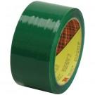 """2"""" x 55 yds. Green 3M™ 373 Carton Sealing Tape"""