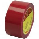 """2"""" x 55 yds. Red 3M™ 373 Carton Sealing Tape"""