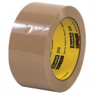 """2"""" x 110 yds. Tan (6 Pack) 3M™ 373 Carton Sealing Tape"""