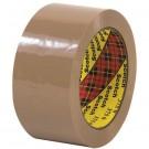 """2"""" x 55 yds. Tan (6 Pack) 3M™ 375 Carton Sealing Tape"""