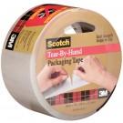 "2"" x 38 yds. Clear 3M™ 3842 Carton Sealing Tape"