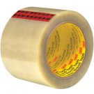 "3"" x 55 yds. Clear 3M™ 351 Carton Sealing Tape"