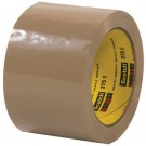 """3"""" x 55 yds. Tan (6 Pack) 3M™ 375 Carton Sealing Tape"""