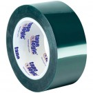 "2"" x 72 yds. (2 Pack) Tape Logic® Green PET Tape"