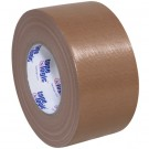 """3"""" x 60 yds. Brown Tape Logic® 10 Mil Duct Tape"""